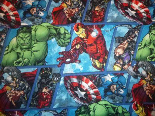 Marvel Superheroes Cotton Fabric Design standard handcraft pillowcase