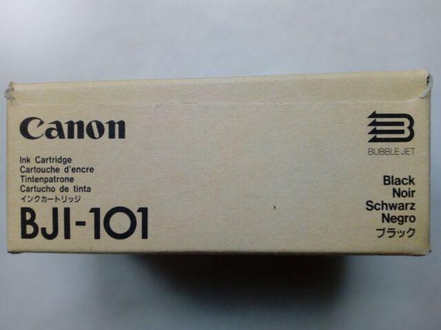 4 x Canon BJI-101 Ink Cartridge Black Genuine Original Code: F47-0321-500