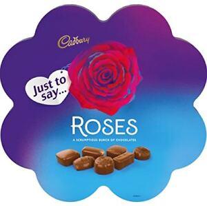 Image Is Loading Cadbury Roses Flower Chocolate Gift Box 275g