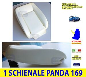Imbottitura Sedile Fiat Panda 169 Schienale Spugna Sedili 2003>2011 interni per
