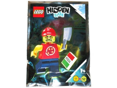 Hidden Side Lego Possessed Pizza Delivery Man Foil Pack 791902 hs030 New