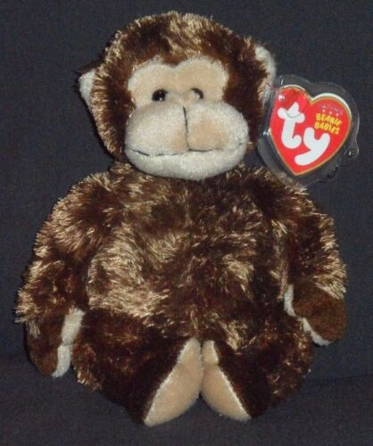 ORIGINAL VERSION MINT with MINT TAGS TY VINES the MONKEY BEANIE BABY