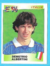 Panini Europa Europe 96 Football Sticker 1996 #245 Demetrio Albertini Italy Ex