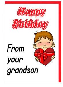 Carino Biglietti Di Auguri Per Compleanno Nonna Nanny Gran Nan Dal