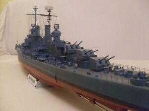 Modelik 22/05 - Cruiser USS Oakland  scala 1:200 with Lasercut parts