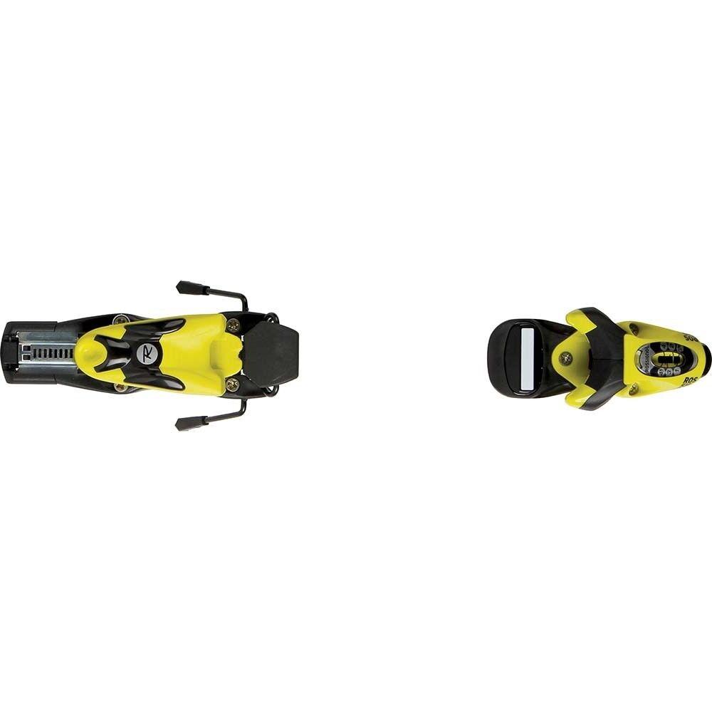 Rossignol Comp J 45 L Fluo Yellow 76mm Ski Bindings
