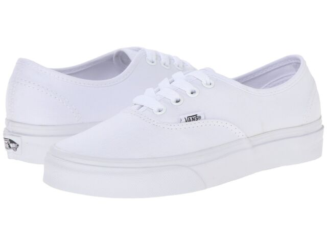 Mens VANS Authentic Canvas True White Vn000ee3w00 US 5 for sale ... c8438c9a816a