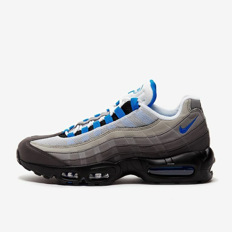 NIKE AIR MAX 95 OG AT8696-100 WHITE CRYSTAL blueE BLACK GREY