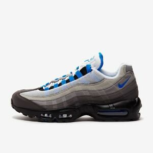 a459cb75a6 NIKE AIR MAX 95 OG AT8696-100 WHITE CRYSTAL BLUE BLACK GREY | eBay