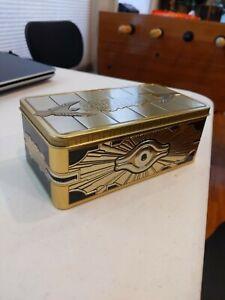 YUGIOH 2019 Gold Sarcophagus Tin Empty Box Only