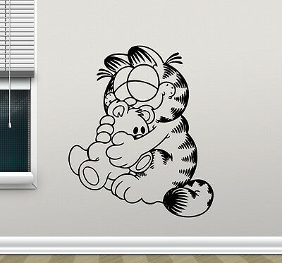 Wall stickers garfield in car-choice size /& colour