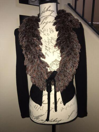 Women's Bonnie Strauss Vintage Cardigan Sweater Bl