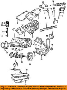 chrysler oem engine oil pan gasket 5241062ab ebay chrysler town and country wiring-diagram image is loading chrysler oem engine oil pan gasket 5241062ab