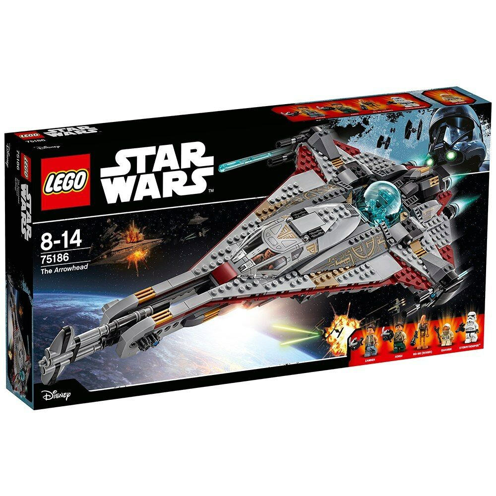 LEGO Star Wars 75186   The Arrowhead - Brand New