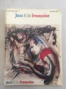 Details about Jazz a la francaise by Claude Bolling Drums Piano Bass Sheet  Music 1984