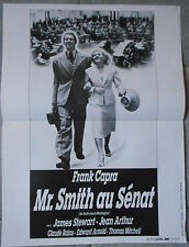 Affiche Mr SMITH AU SENAT Mr Smith goes to Washington FRANK CAPRA James Stewart