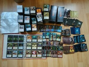 Magic the gathering Sammlung mit knapp 5000 Karten und viel Zubehör