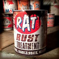 Rat rust treatment oil can Gift Motorcycle Car Mechanic Gift 11oz Tea coffee mug