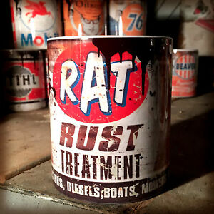 2x-Rat-rust-treatment-oil-can-Gift-Car-Mechanic-Gift-11oz-Tea-coffee-mugs