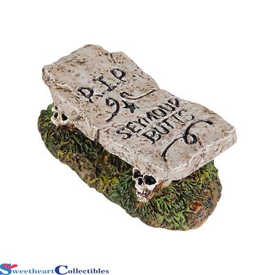 Dept 56 Halloween Village Accessories   Boneyard Bench  NIB