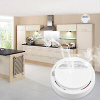 Lot 5/10 Pcs Smoke Detector Home Security Fire Alarm Sensor System Cordless Wp