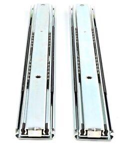 Grundpreis 14,95€//Stk. 1 Paar Vollauszug 500mm 130KG Schubladenschienen Telesk