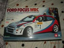 TAMIYA R/C 1/10 FORD FOCUS MARTINI WRC TL-01 CHASSIS #58241 KIT