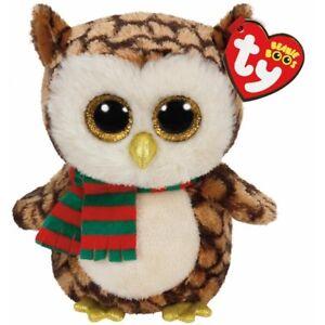 05a745e6bb5 Ty Beanie Babies 36173 Boos Wise the Christmas Owl Boo 8421361731
