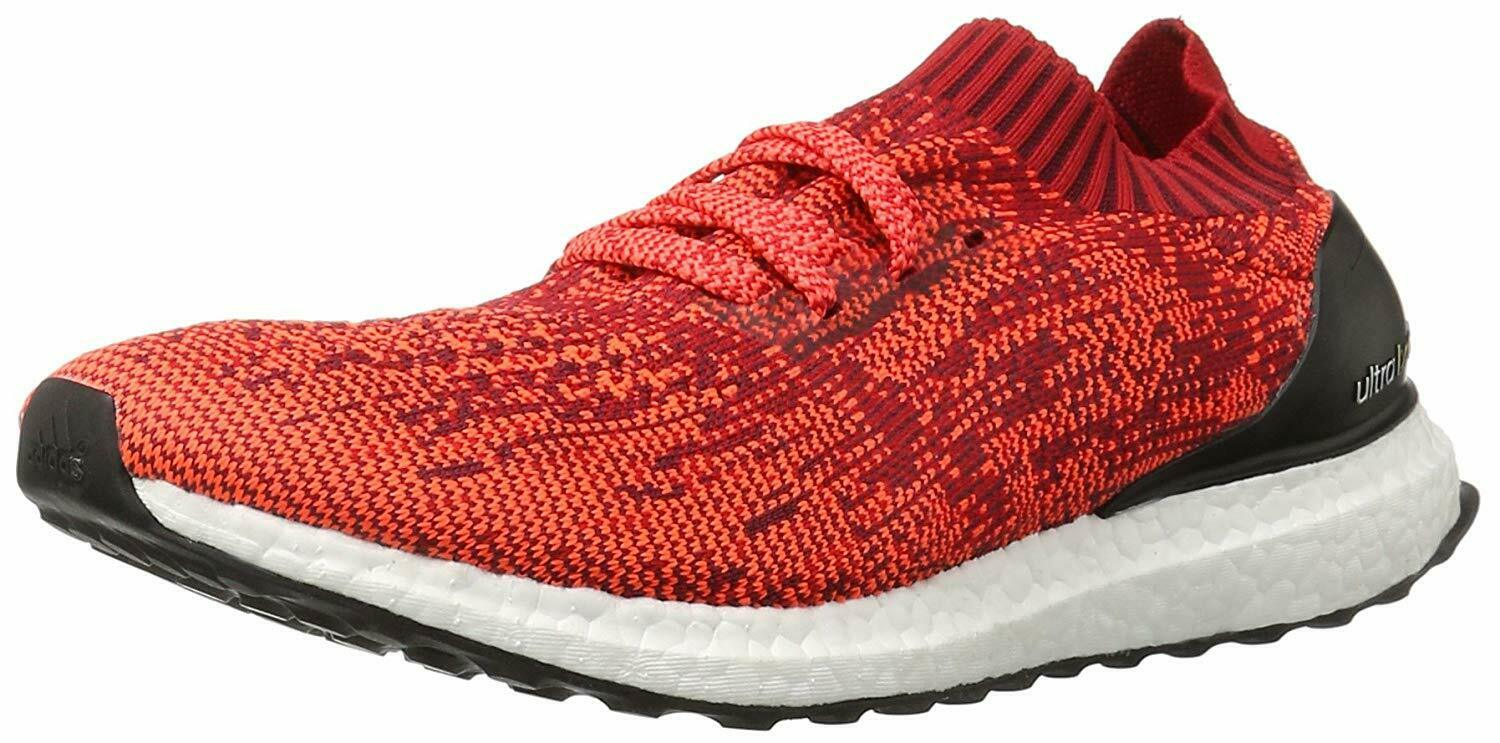 ADIDAS MENS ULTRABOOST UNCAGED RUNNING SNEAKERS BB3899 SCARLET INFRARED BLK 12
