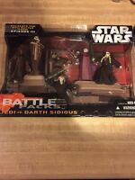 Star Wars Jedi Vs. Darth Sidious Episode Iii Battle Packs Action Figures