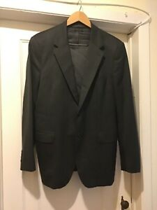 PRADA-Blazer-Sport-Coat-Jacket-EU-54-US-44-R-Gray-2-Button