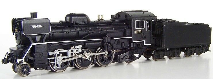 Micro Ace a7203 c58-33 japanese steam locomotive, n scale, ships from USA