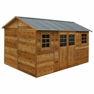 Hollydean-16x8-4-8m-x-2-5m-Stilla-Timber-Garden-Shed-Free-Delivery-Deck-Box