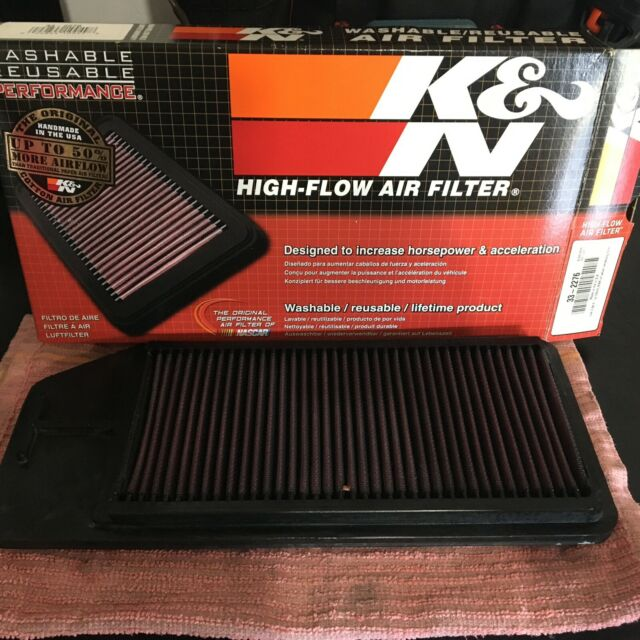 K&N 33-2276 Replacement Panel Air Filter For Honda Accord