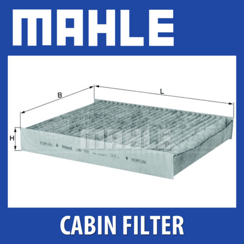 LAK169 Fits Ford Fiesta Fusion Mahle Pollen Filter Cabin Filter