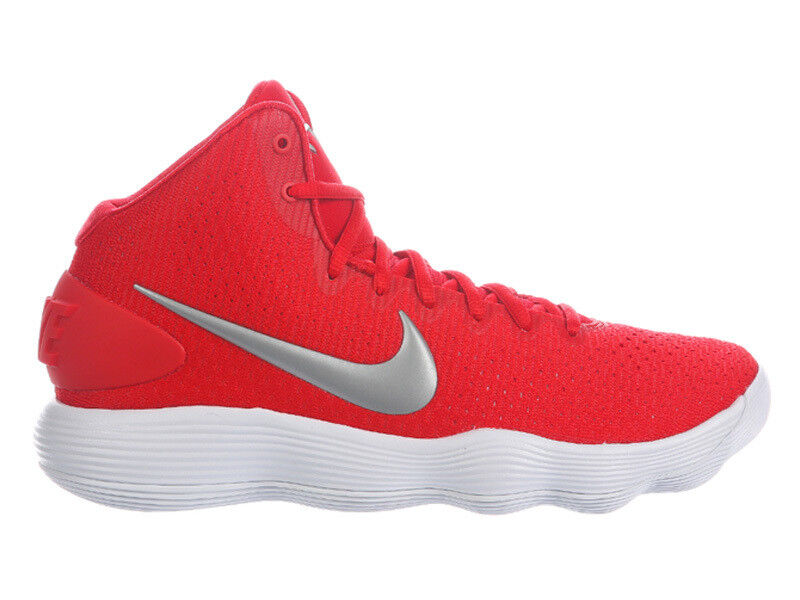 NEW MENS NIKE REACT HYPERDUNK 2017 BASKETBALL SHOES TRAINERS UNIVERSITY RED / ME