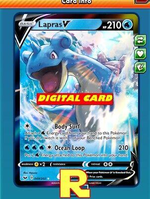 Zamazenta V Regular Sword /& Shield Pokémon TCG Online PTCGO ONLINE CARD FAST!