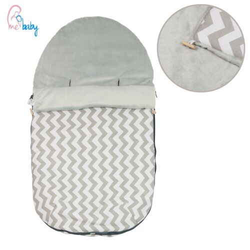 New Grey Universal Footmuff Cosy Toes Seat Liner for Buggy Stroller Pushchair