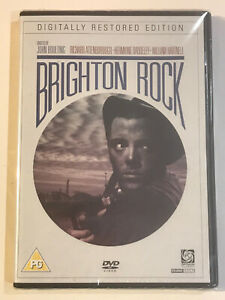 BRIGHTON-ROCK-DVD-NEW-amp-SEALED-1948-RICHARD-ATTENBOROUGH-MOVIE-FILM