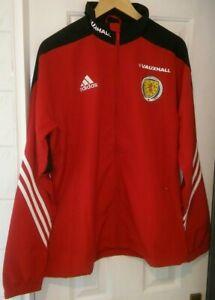 Scotland Adidas Player Issue Track Jacket 2017/2018 Season.  Size Large.