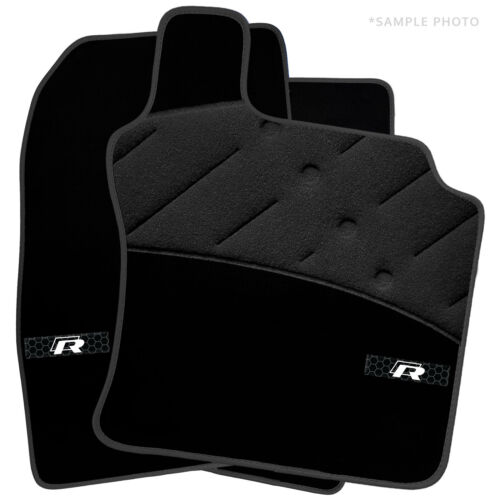 2018+ For Volkswagen Polo Car Mats Luxury Tailored /& Inspired Logo