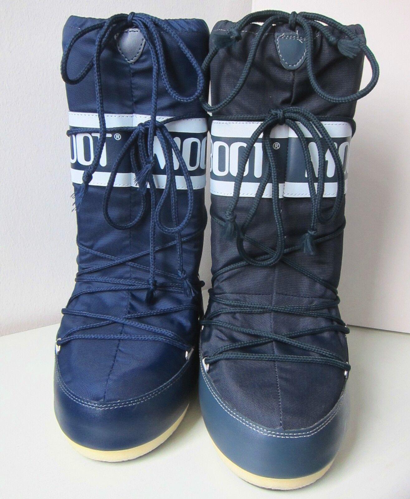 Tecnica MOON BOOT Nylon jeans blau Gr. 31 - Moonboots 34  Moon Boots Moonboots - denim blue 0d8c13