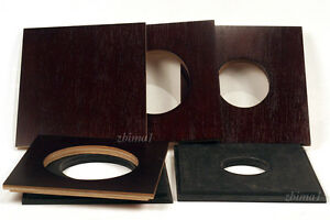 """1 LENS BOARD 7.5"""" x 7.5"""" for ANSCO 8 x10"""" Camera- Plywood/undrilled/free hole"""