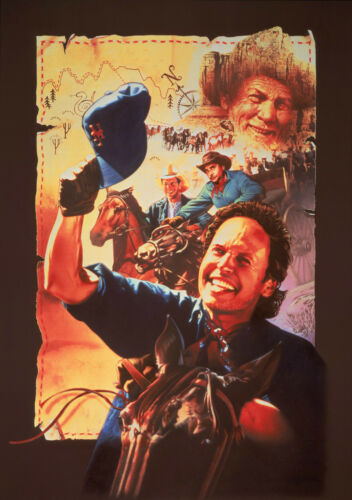 City Slickers Vintage Movie Giant Poster A0 A1 A2 A3 A4 Sizes