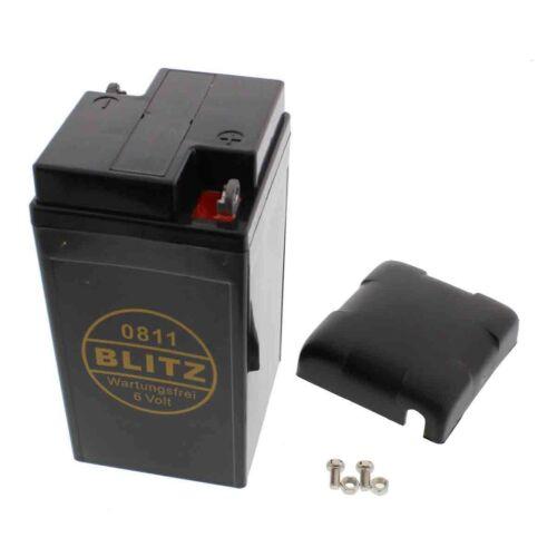 GEL flash batteria 0811 6v//12ah VESPA RALLY 1 200 FEMSATRONIC BJ 1972-1977
