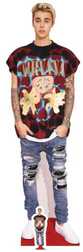 Justin Bieber Ripped Jeans Style Lifesize and Mini Cardboard Cutout Standee