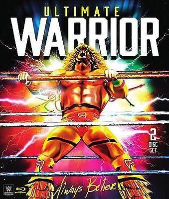 WWE: Ultimate Warrior - Always Believe (Blu-ray Disc, 2015, 2-Disc Set)