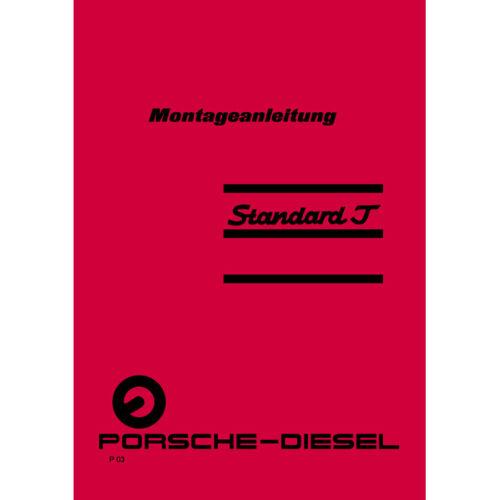 Montageanleitung für Porsche-Diesel Standard T 217