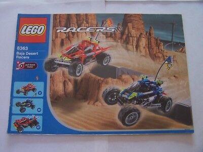 Gehorsam Lego® Bauanleitung Instruction Nr 8363 Durchsichtig In Sicht