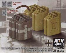 AFV Club 1/35 Scale German WWII 20L Jerrycans Set AF35257
